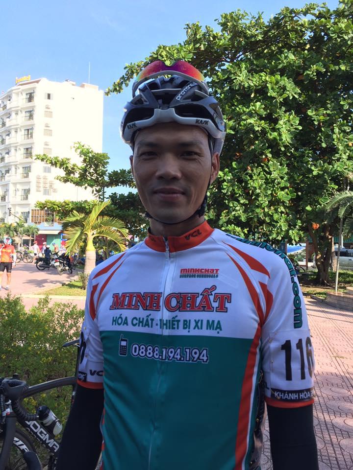 Đội xe đạp Hóa chất xi mạ Minh Chất VCL Đà Nẵng thi đấu thành công